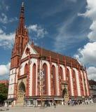 View of the Marienkapelle, Wuerzburg Stock Photos