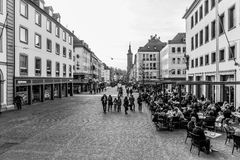 Wuerzburg Inner City Royalty Free Stock Photography