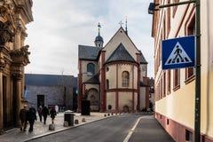 Wuerzburg Inner City Royalty Free Stock Image