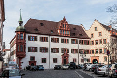 Wuerzburg Inner City Royalty Free Stock Photos