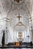 Wuerzburg katedry wnętrze Zdjęcie Stock