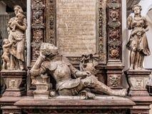 Wuerzburg katedry wnętrze Obraz Royalty Free