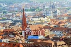 Wuerzburg Panorama Royalty Free Stock Image