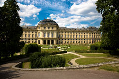 Wuerzburg Residence Stock Photo