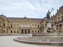 Wuerzburg Residence. The Wuerzburg Residence, a palace in a city named Wuerzburg (Bavaria, Germany Stock Photography