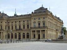 Wuerzburg Residence Stock Image