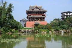 Wufeng torn i Luodai den forntida townen Royaltyfria Foton