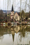 Wufu-Stadt in Chengdu, Porzellan lizenzfreie stockbilder