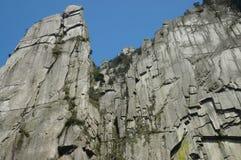 Wugong-Berg stockbilder