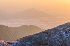 Wugong góry Obrazy Royalty Free