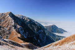 Wugong mountains Stock Images