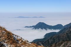 Wugong mountains Royalty Free Stock Image