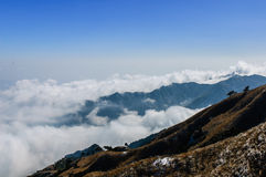 Wugong mountains Royalty Free Stock Photos
