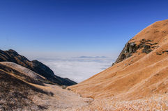 Wugong mountains Royalty Free Stock Images
