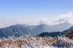 Wugong mountains Stock Image
