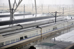 Wuhan-Bahnhof Stockfotos
