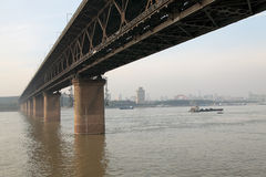 Wuhan bridge Stock Photography