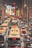 Wuhan, China: alameda de compras Foto de archivo libre de regalías