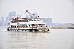 Wuhan,china:Han river Royalty Free Stock Photography
