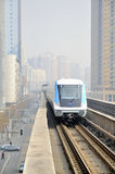 Wuhan,china: light rail Stock Photo