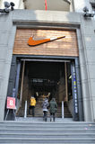 Wuhan,china:shopping mall Royalty Free Stock Photo