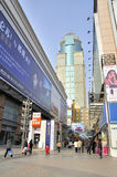 Wuhan,china:shopping mall Royalty Free Stock Photo