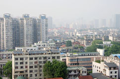 Wuhan city panorama Royalty Free Stock Photos