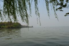 Wuhan East Lake ecotourism scenic area. Referred to as the East Lake scenic area, is located in the downtown of Wuhan, Hubei province. It is the 5A tourist stock images