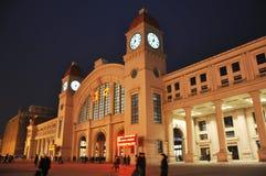 Wuhan hankou Bahnhof Stockfotos