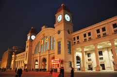 Wuhan hankou railway station Stock Photos
