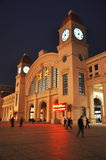 Wuhan hankou railway station Stock Photography