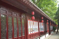 Wuhan Liberation Park. Was built in 1952. The park covers an area of 460 thousand square meters 76 thousand square meters of water, and the green space rate is Stock Photos