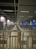 Wuhan metro hall Stock Image