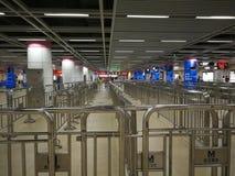Wuhan metro hall Stock Images
