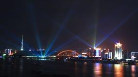 Wuhan na noite Fotos de Stock