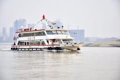 Wuhan, porcelaine : Fleuve de Han Photographie stock libre de droits