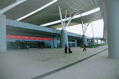 Wuhan station arkivfoto