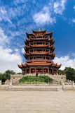 Wuhan Yellow Crane Tower Royalty Free Stock Photos