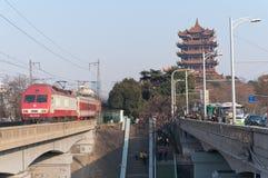 Free Wuhan Yellow Crane Tower Royalty Free Stock Photos - 23091568