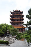 Wuhan Yellow Crane Tower Royalty Free Stock Images