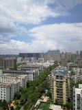 Wuhancityscape Royalty-vrije Stock Afbeelding
