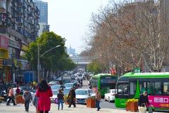 Wuhanuniversiteit Royalty-vrije Stock Afbeelding