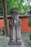 Wuhou寺庙,市成都,中国 免版税库存照片