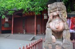 Wuhou świątynia, miasto Chengdu, Chiny Zdjęcia Royalty Free