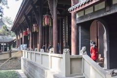 Wuhou Memorial temple Stock Image