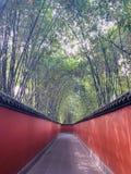 Wuhou tempel, Chengdu, Sichuan, Kina royaltyfria bilder