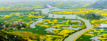 Wuhu City, Anhui Province, south of Yangtze River scenery Stock Images