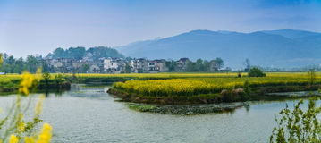 Wuhu City, Anhui Province, southern countryside. Eastphoto, tukuchina, Wuhu City, Anhui Province, southern countryside Royalty Free Stock Photography