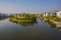 Wuhu kuizi antyczny miasteczko Fotografia Royalty Free