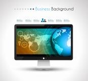 WUI平的设计元素的UI平的设计元素网的, Infographics 库存图片